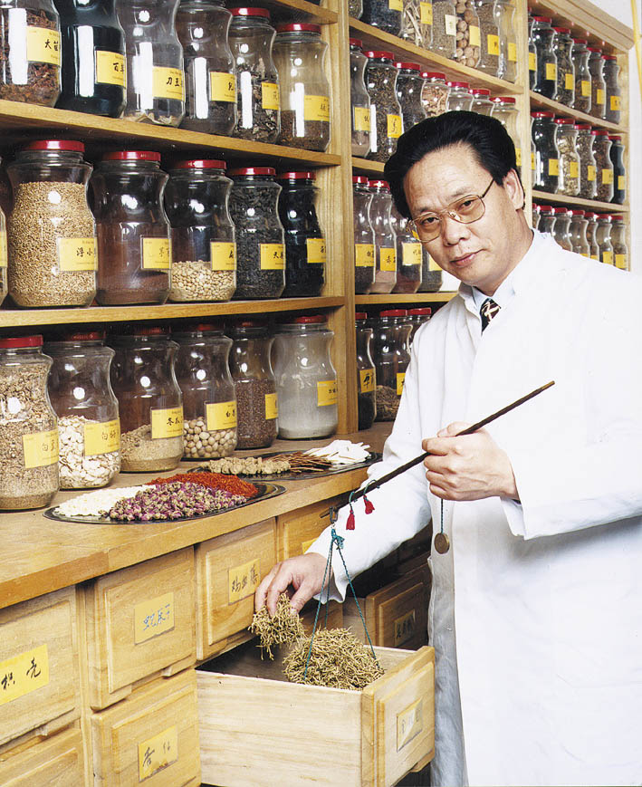 Dong Zhi Lin At Herbal Department CMC. Shenzhou Open University of TCM
